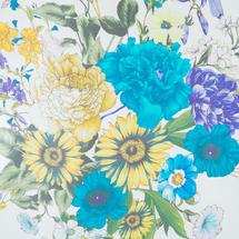 Палантин женский  Цвет:голубой Артикул:0167988 2