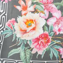 Палантин женский  Цвет:черный Артикул:0167992 2