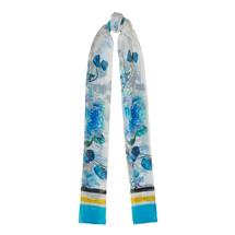 Палантин женский  Цвет:голубой Артикул:0167993 1