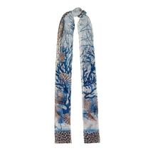 Палантин женский  Цвет:синий Артикул:0167996 1