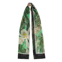Палантин женский  Цвет:зеленый Артикул:0167998 1