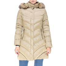 Пальто женское  Цвет:бежевый Артикул:0661392 1