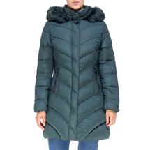 Пальто женское  Цвет:зеленый Артикул:0661392 1