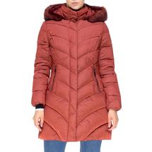 Пальто женское  Цвет:красный Артикул:0661392 1