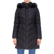 Пальто женское  Цвет:черный Артикул:0661392 1