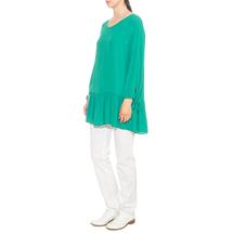 Туника женская PIERO MORETTI Цвет:зеленый Артикул:0579997 2
