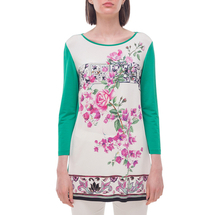 Туника женская  Цвет:зеленый Артикул:0580017 1