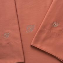 Комплект постельного белья 4 предмета  Цвет:коричневый Артикул:1062318 2