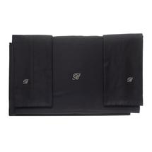 Комплект постельного белья 4 предмета  Цвет:черный Артикул:1062318 1