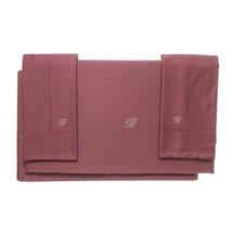 Комплект постельного белья 4 предмета  Цвет:бордовый Артикул:1062319 1