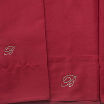 Комплект постельного белья 4 предмета  Цвет:бордовый Артикул:1062320 2