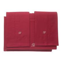 Комплект постельного белья 4 предмета  Цвет:бордовый Артикул:1062321 1