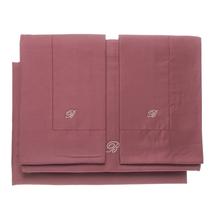 Комплект постельного белья 4 предмета  Цвет:бордовый Артикул:1062322 1
