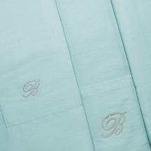 Комплект постельного белья 4 предмета  Цвет:бирюзовый Артикул:1062323 2