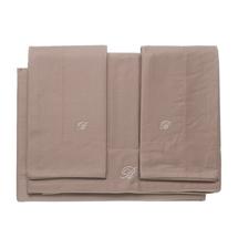Комплект постельного белья 4 предмета  Цвет:коричневый Артикул:1062323 1