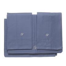 Комплект постельного белья 4 предмета  Цвет:синий Артикул:1062323 1