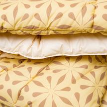 Одеяло - покрывало  Цвет:желтый Артикул:1062406 2