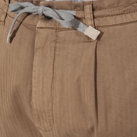 Брюки мужские ELEVENTY PLATINUM Цвет:коричневый Артикул:0978327 4