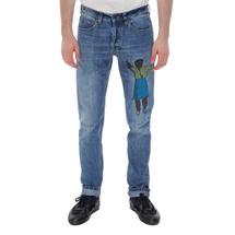 Джинсы мужские  Цвет:синий Артикул:0978456 1