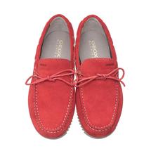 Мокасины мужские  Цвет:красный Артикул:0359890 2