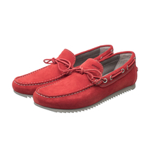 Мокасины мужские  Цвет:красный Артикул:0359890 1