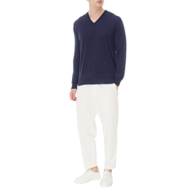 Пуловер мужской  Цвет:синий Артикул:0978585 2