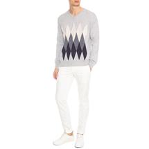 Пуловер мужской  Цвет:серый Артикул:0978587 2