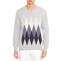 Пуловер мужской  Цвет:серый Артикул:0978587 1