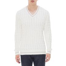 Пуловер мужской  Цвет:белый Артикул:0978591 1