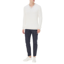 Пуловер мужской  Цвет:белый Артикул:0978591 2