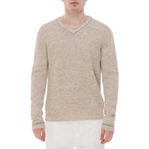 Пуловер мужской  Цвет:бежевый Артикул:0978592 1