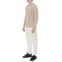 Пуловер мужской  Цвет:бежевый Артикул:0978592 2