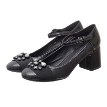 Туфли женские  Цвет:черный Артикул:0262390 1