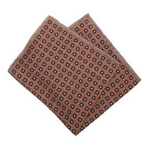 Платок декоративный мужской  Цвет:коричневый Артикул:0168019 1
