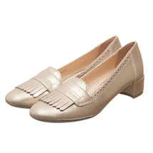 Туфли женские  Цвет:золотой Артикул:0262436 1