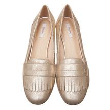 Туфли женские  Цвет:золотой Артикул:0262436 2