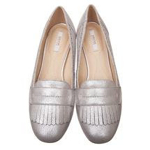 Туфли женские  Цвет:серебряный Артикул:0262436 2