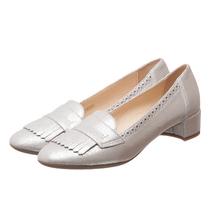 Туфли женские  Цвет:серебряный Артикул:0262436 1
