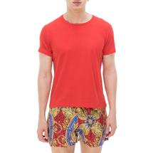 Футболка мужская  Цвет:красный Артикул:0978710 1