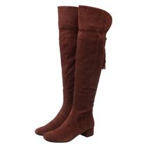 Ботфорты женские  Цвет:коричневый Артикул:0262415 1